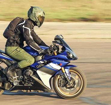 Doorbraak in gebruik motorfiets