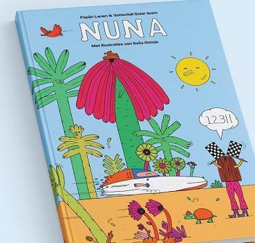Pepijn Lanen en Vattenfall Solar Team lanceren kinderboek over zonneauto Nuna